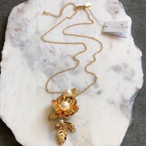 Kate Spade Lavish Blooms Pendant Necklace